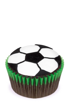 Football Cupcakes                     Reynolds Baking Cups