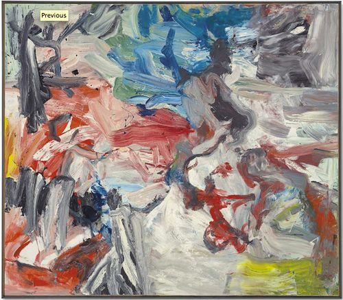 Willem de Kooning 'Untitled VIII,' 1977. Sold at Christie ...
