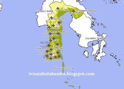 Provinsi Sulawesi Selatan, mulai dari obyek wisata pantai, gunung, wisata budaya tentunya propinsi yang satu ini boleh di bilang adalah kiblat bagi kota-kota yang ada di Kawasan Indonesia Timur, Nah bagi anda yang ingin berwisata ke sulawesi selatan Berikut Peta Wisata Sulawesi Selatan