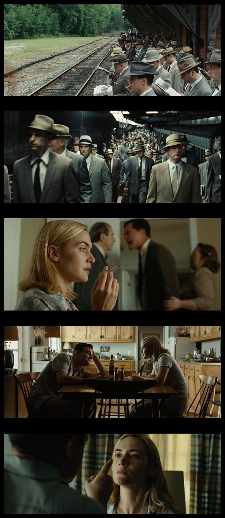 Revolutionary Road, Sam Mendes, 2008 - A disturbing film. An excellent film about a marriage, thankfully not mine.