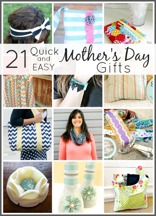 21 Quick and Easy Mother's Day Gifts - The Ribbon Retreat ...