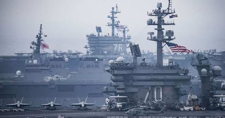 US Carrier Strike Groups Join Japanese Near North Korea's Coast » Alex Jones' Infowars: There's a war on for your mind!