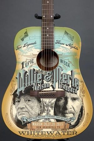 WILLIE NELSON & MERLE HAGGARD..March 26,27,28, 2015