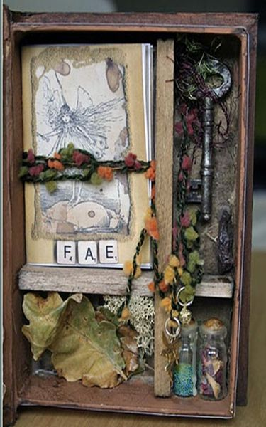 I have realized that I really enjoy found object type art and will keep making more. So much fun.