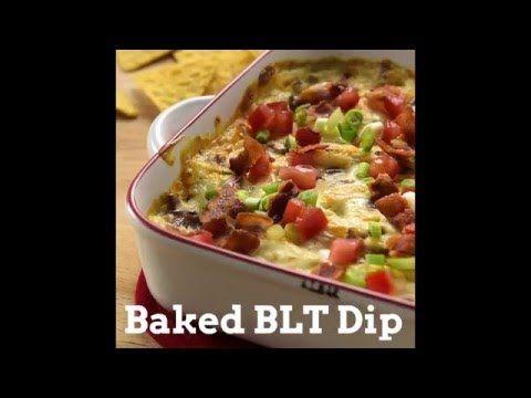 Baked BLT Dip recipe from Betty Crocker