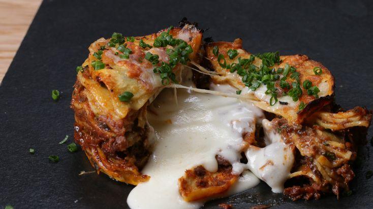 Molten Lasagna Recipe by Chef Thiago Silva