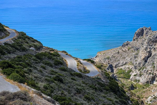 Road to Lykodimou beach