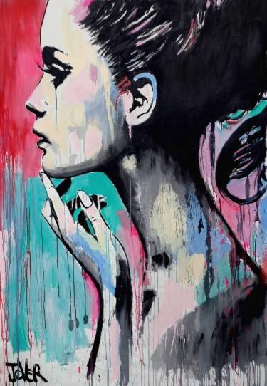 "Saatchi Art Artist Loui Jover; Painting, ""perhaps again"" #art"