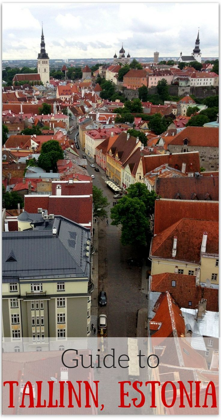 Our guide to things to do in Tallinn, Estonia, where to eat, best hotels and Tallinn with kids! http://www.wheressharon.com/europe-with-kids/what-to-do-in-tallin-guide/