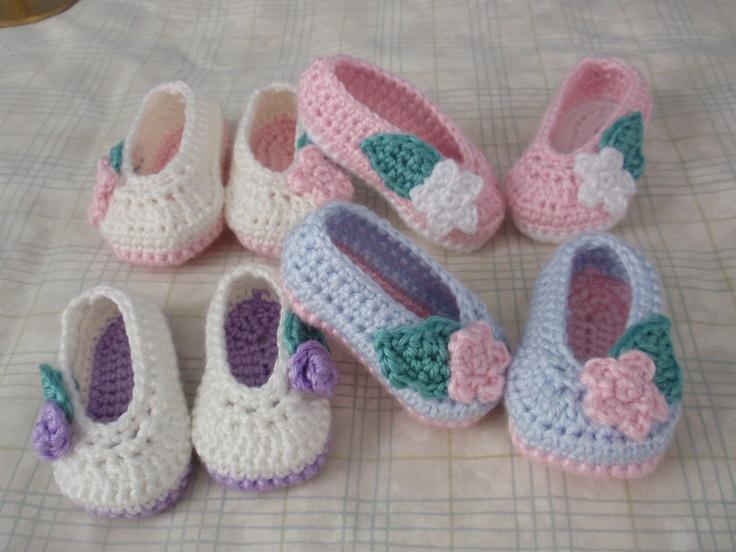 Baby Rosey Ballet Slippers by Elizabeth Alan
