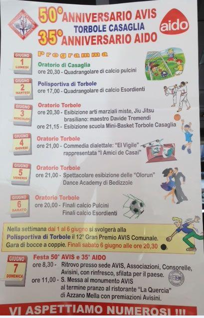 50 Anniversario Avis e 35 Anniversario Aido Torbole Casaglia http://www.panesalamina.com/2015/36438-50-anniversario-avis-e-35-anniversario-aido-torbole-casaglia.html