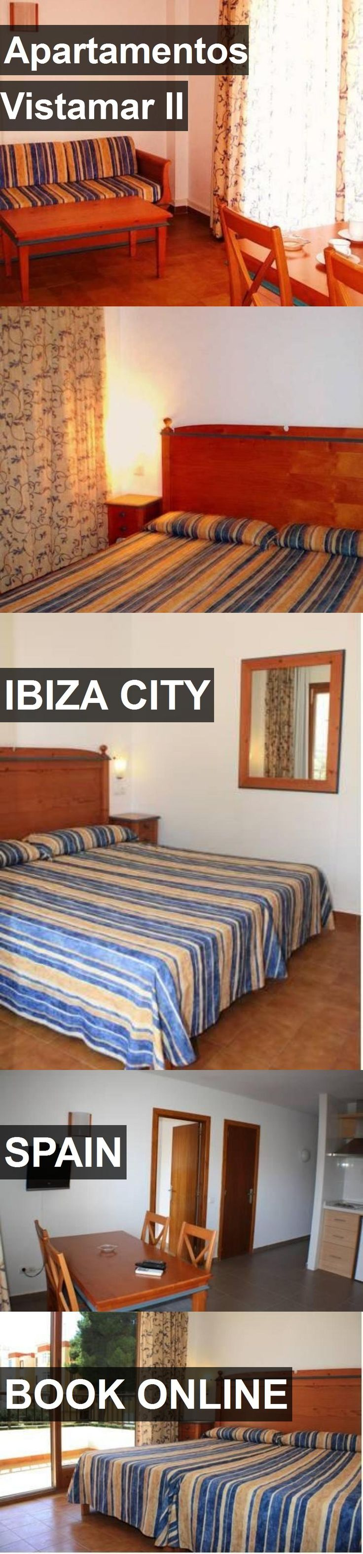 Hotel Apartamentos Vistamar II in Ibiza City, Spain. For more information, photos, reviews and best prices please follow the link. #Spain #IbizaCity #ApartamentosVistamarII #hotel #travel #vacation