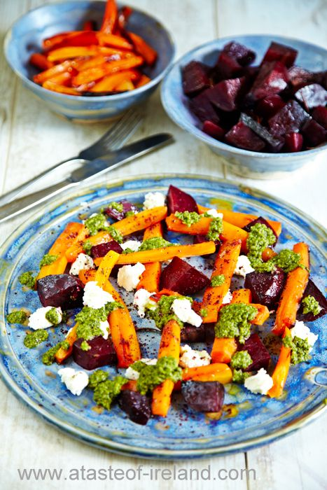 Liver Detox vegetarian Recipe with Beetroot, Carrots & Ardsallagh Goats Cheese