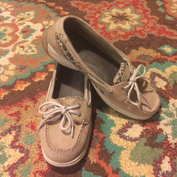 Leopard Sperry Top Siders Tan leopard Sperry Top Siders Sperry Top-Sider Shoes Flats & Loafers