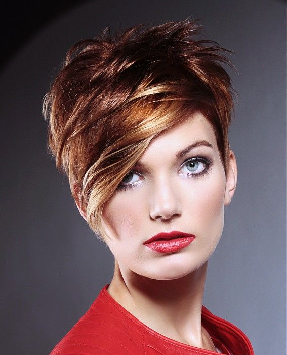 Medium Brown Multi-tonal Women's Hairstyle | L Salon