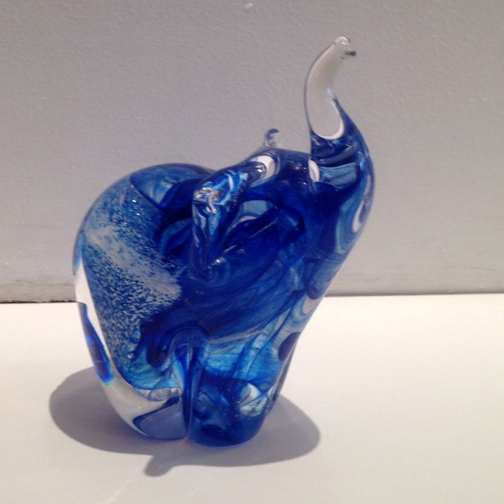 They say an #elephant never forgets - and who could forget you if you gave this blue elephant as a gift? WOW! have cuter smaller ones to.