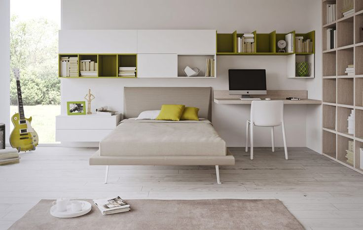 Oltre 1000 idee su libreria per la camera da letto su pinterest tende oscuranti scaffali per - Camerette x ragazzi economiche ...