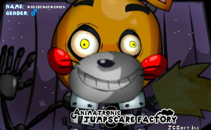 I've got this fnaf app where you can make your own