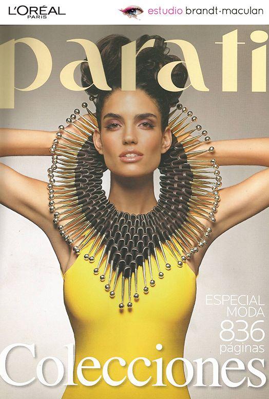 Tapa Revista #ParaTi Septiembre #Makeup #LOrealParisArg