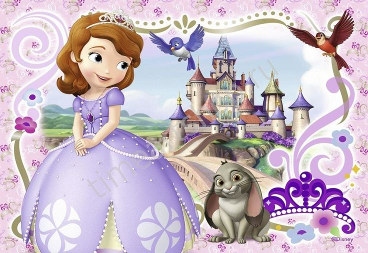 Принцесса София, картины раскраски по номерам, своими руками, детские размер 20*30 см, цена 380 руб.