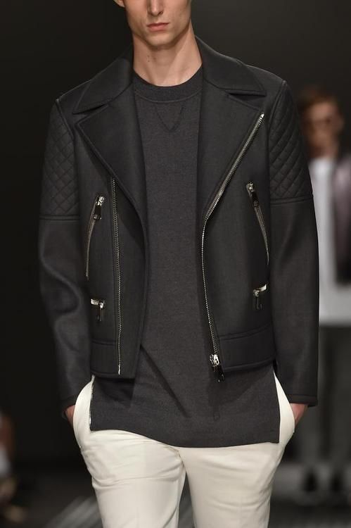 Neil Barrett 2015   Men's Fashion   Menswear   Men's Outfit for Spring/Summer   Casual with Style   Moda Masculina   Shop at designerclothingfans.com