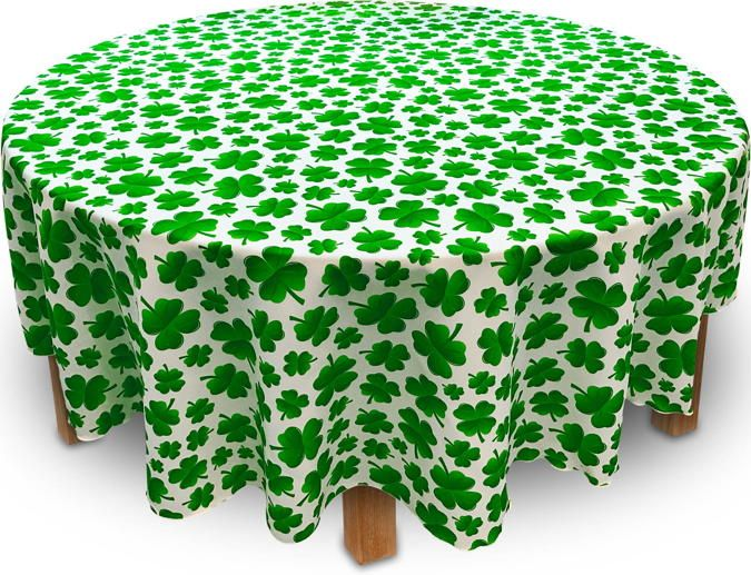 Shamrock Tablecloth U2014 Just In Time For St Patricks Day, And Only Available  At Bright