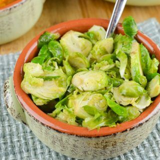 Syn Free Sauteed Shredded Garlic Brussel Sprouts