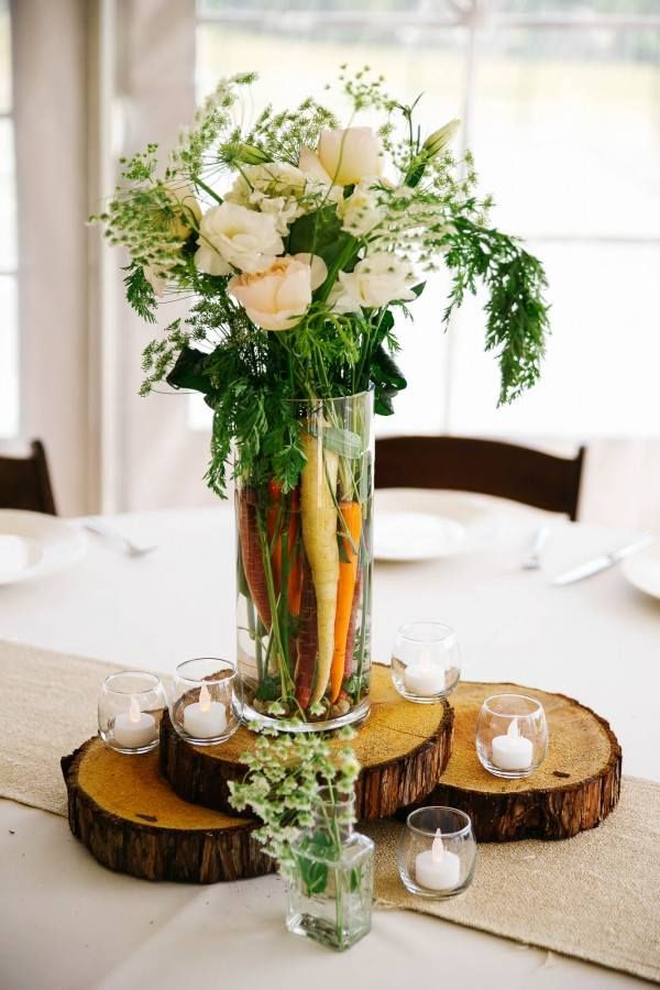 table decoration that rocks!
