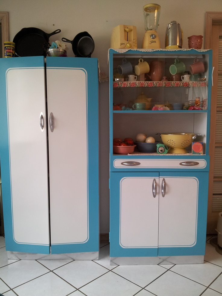 Upcycled Grandma S Old Metal Cabinets From The 70 S Into