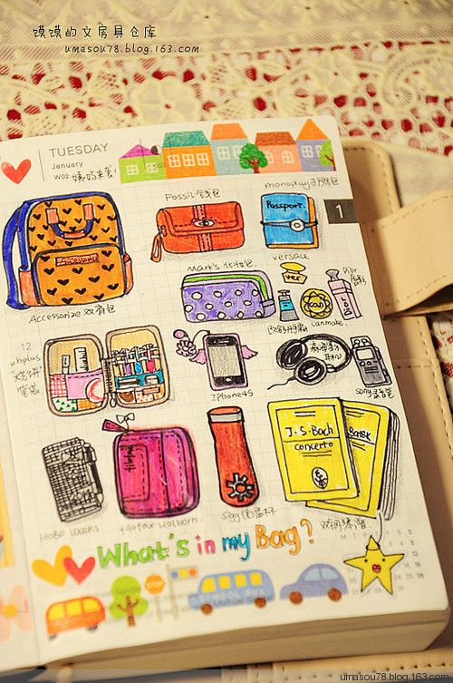 Like the idea of a picture chart to show what they need in their backpack. Add Velcro to attach each piece as they pack it