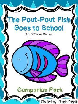 100 best pout pout fish activities images on pinterest for Pout pout fish goes to school