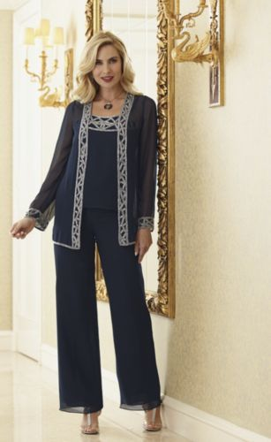Marlene Tuxedo Pant Set from Midnight Velvet® www.midnightvelvet.com Confident Style. Beautiful You.