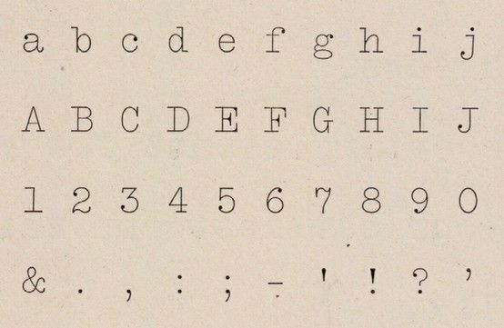 Courier Example  Fonts I     Typography Serif And Fonts