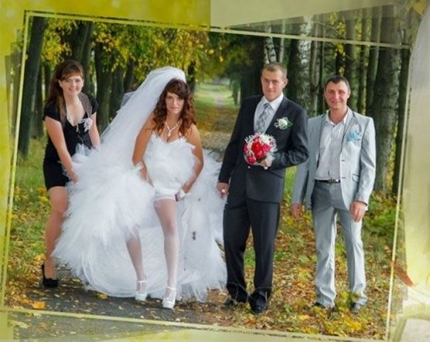 Was This Really The Best Shot Worst Wedding Photos Awkward Wedding Photos Marriage Images