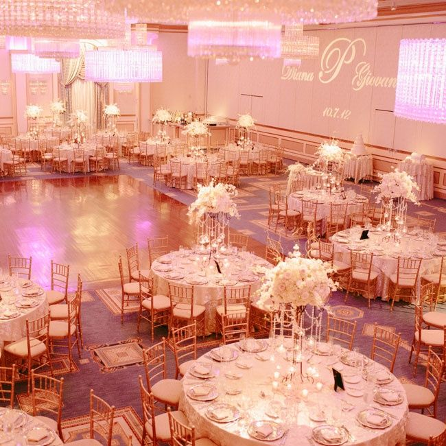 112 best wedding reception inspiration images on pinterest wedding opulent ballroom reception the wedding central hd video and photography junglespirit Image collections