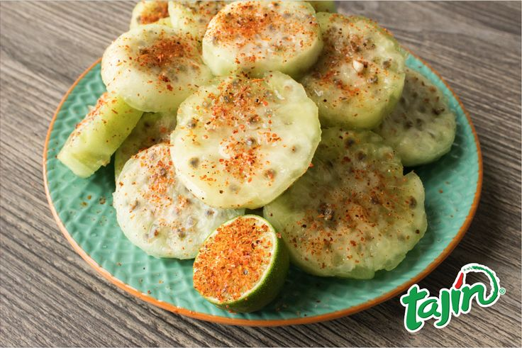 Have you ever tried these? They are the definition of AMAZING #pricklypear/ #tunas con su buena dosis de #tajin
