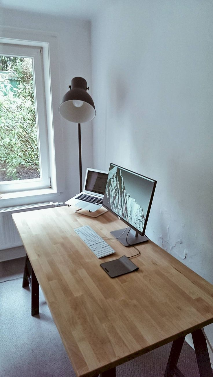 Classy Computer Tables To Go With Living Room Decor: 25+ Best Monitor Stand Ikea Ideas On Pinterest