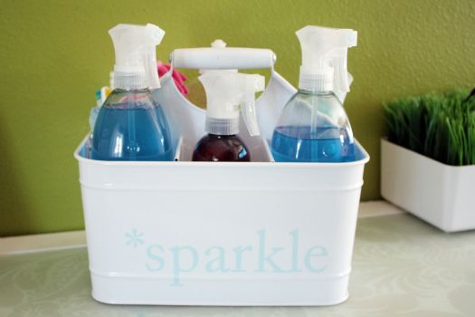 I Love This Quot Sparkle Quot Cleaning Caddy Great To Have