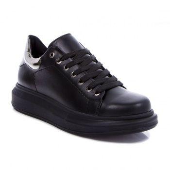 Черные кроссовки на платформе (T6-143T), купить за 1199 грн в интернет-магазине Topshoes.ua