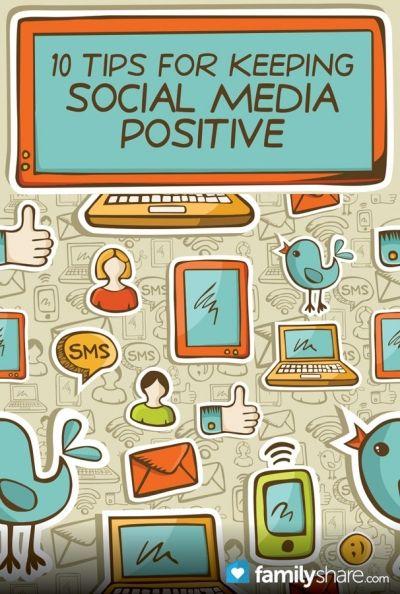 10 tips for keeping social media positive #social media #jkwebninja #SMM #socialmedia