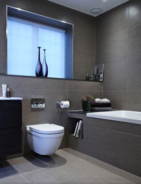 Vasos sanit rios suspensos veja banheiros e lavabos super - Piso pequeno moderno ...