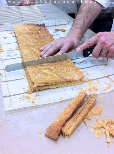 CAP pâtissier : le mille-feuille traditionnel