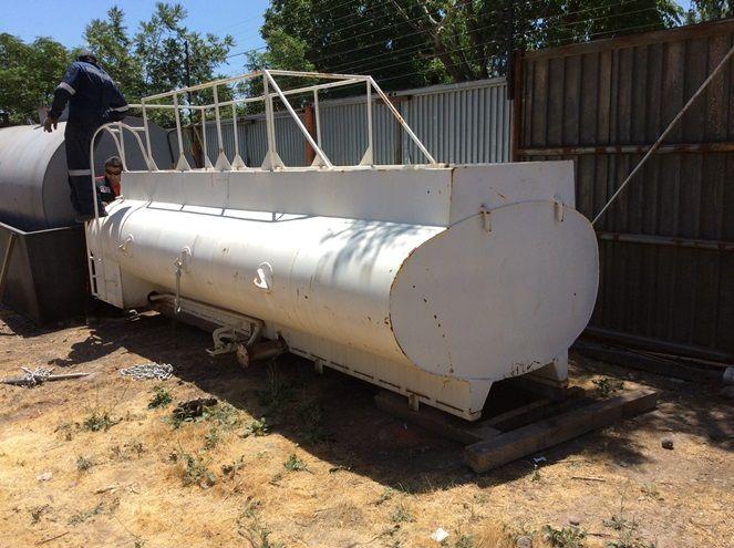 Estanque Algibe para Combustible / Acero Carbono / 10.000 Litros Aprox./ Usado – ChileRemates.cl