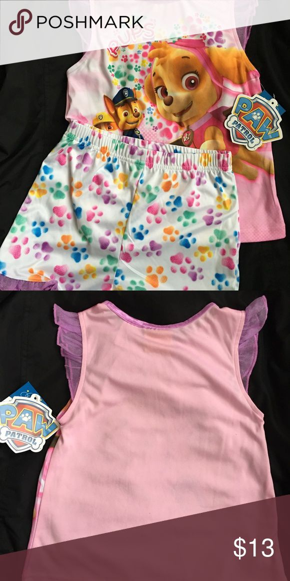 Paw Patrol Girls Sleepwear This paw patrol sleepwear is new with tags Paw Patrol Pajamas Pajama Sets