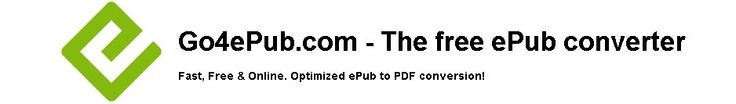 A fast and reliable Epub to PDF converter and probably the fastest way to convert between these two formats on the web. The free online service also works for conversions between mobi and PDF.
