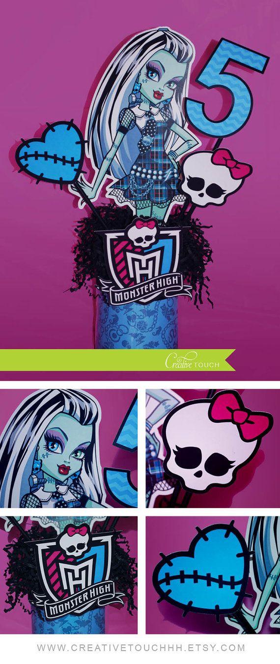 Monster High Birthday, Monster High Birthday Party Ideas, Monster High…