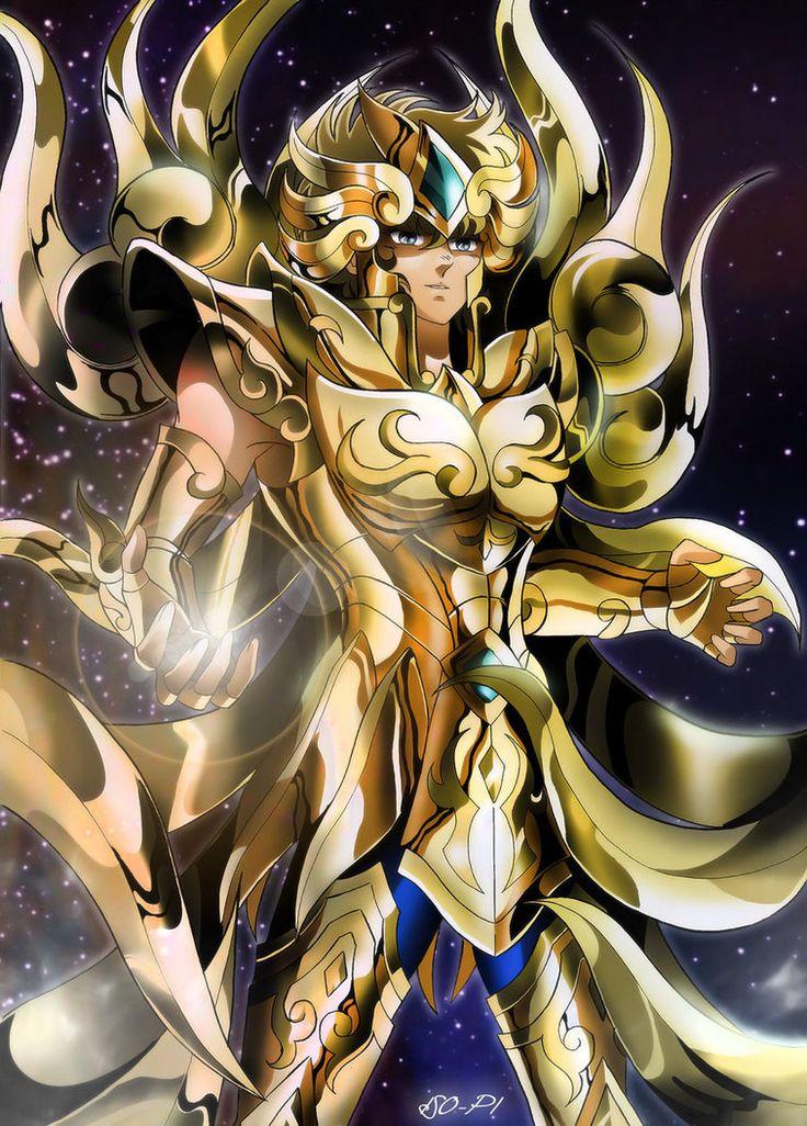 Saint Seiya Soul of Gold - Aiolia by Iso-pI