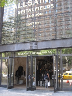 She She Shoppers: AllSaints Spitalfield: Our Winning Window