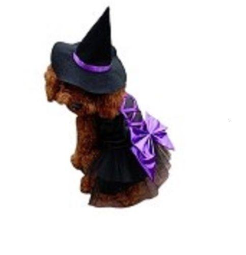 Dog Costume - Witch Dog halloween Dress