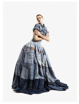 Gary Harvey - Abito di jeans riciclati